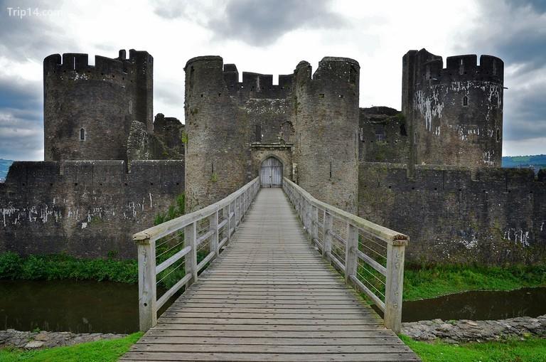 Lâu đài Caerphilly, Wales © Paul McCoubrie / Flickr - Trip14.com