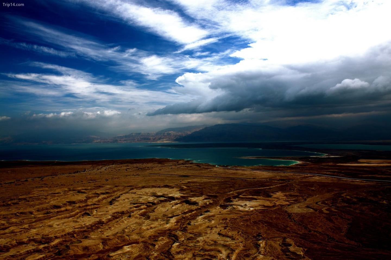 Biển Chết ở Jordan