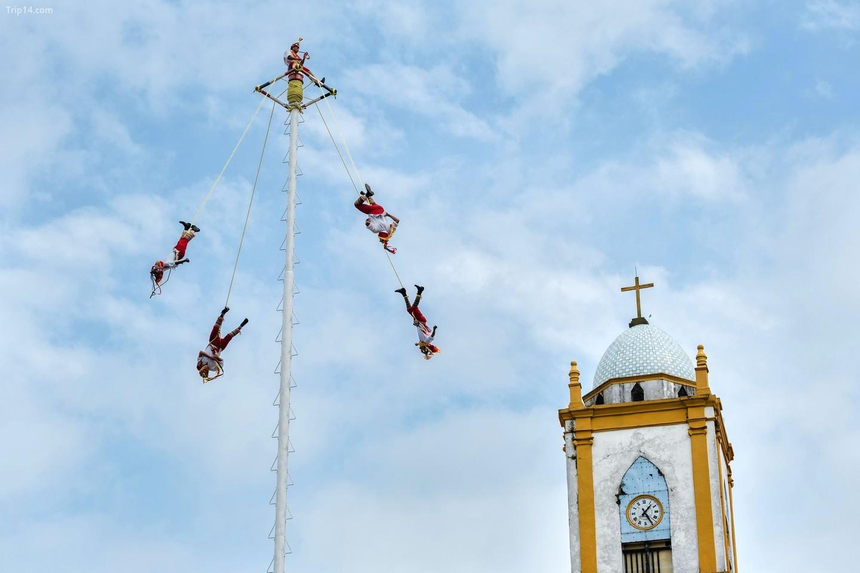 Los Voladores de Papantla là một biểu tượng Di sản văn hóa phi vật thể được Unesco công nhận