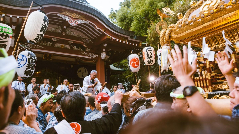 Khám phá lễ hội mùa thu Kichijoji ở Tokyo