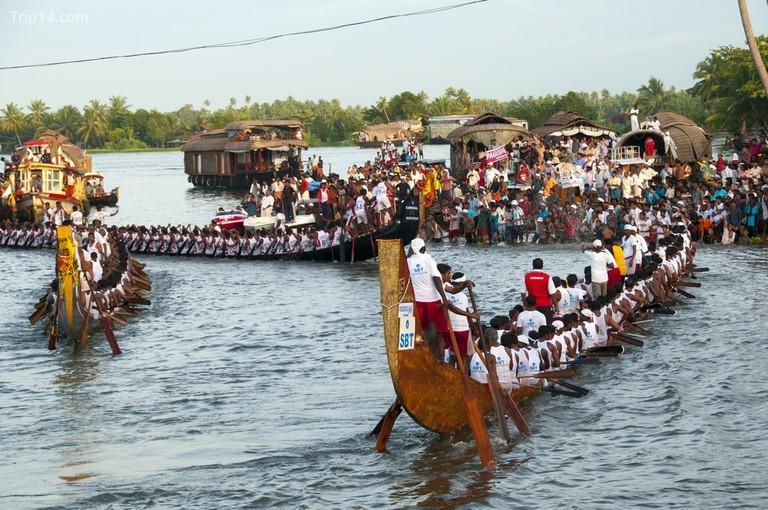 Ở Aranmula, những con thuyền được gọi là palliyodam - thuyền của Chúa Krishna