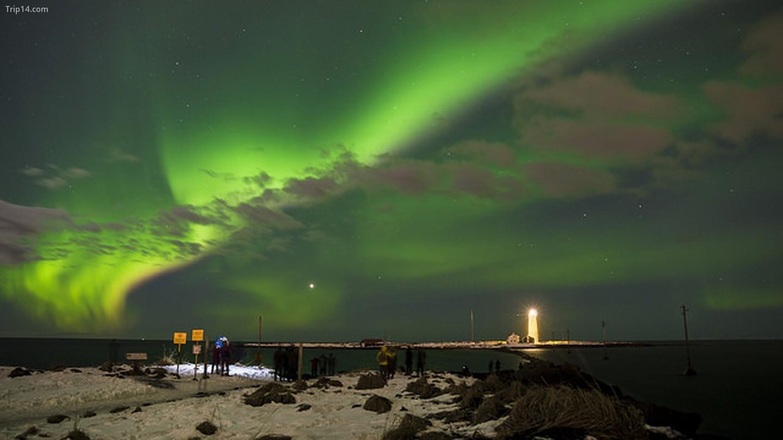 Cực quang Iceland   |