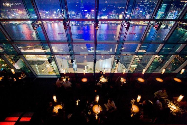 Nhà hàng và quán bar Aqua ở Hồng Kông - Trip14.com