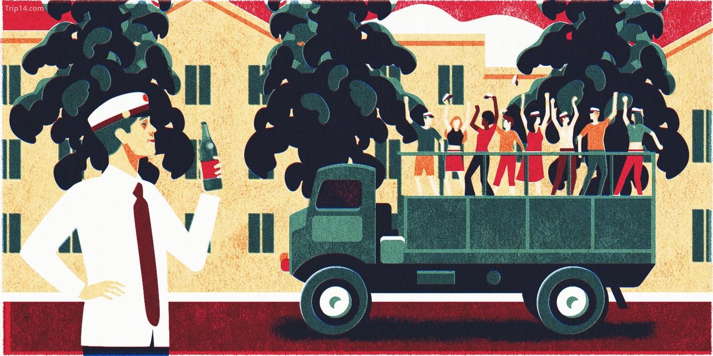 J-Day mang tất cả bia Giáng sinh đến các quán bar | Thứ sáu đầu tiên của tháng mười một