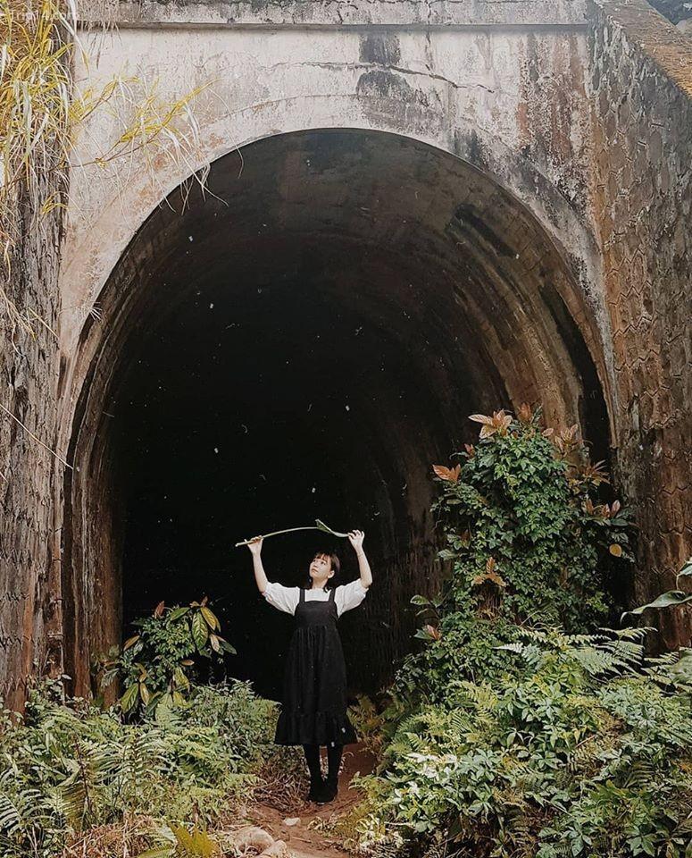 đường hầm Hỏa Xa ở Cầu Đất