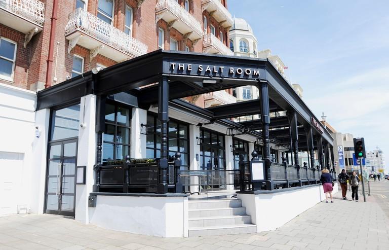 Nếu bạn đang thèm ăn hải sản, Phòng muối là nơi để đến ở Brighton © Edward Simons / Alamy Kho ảnh