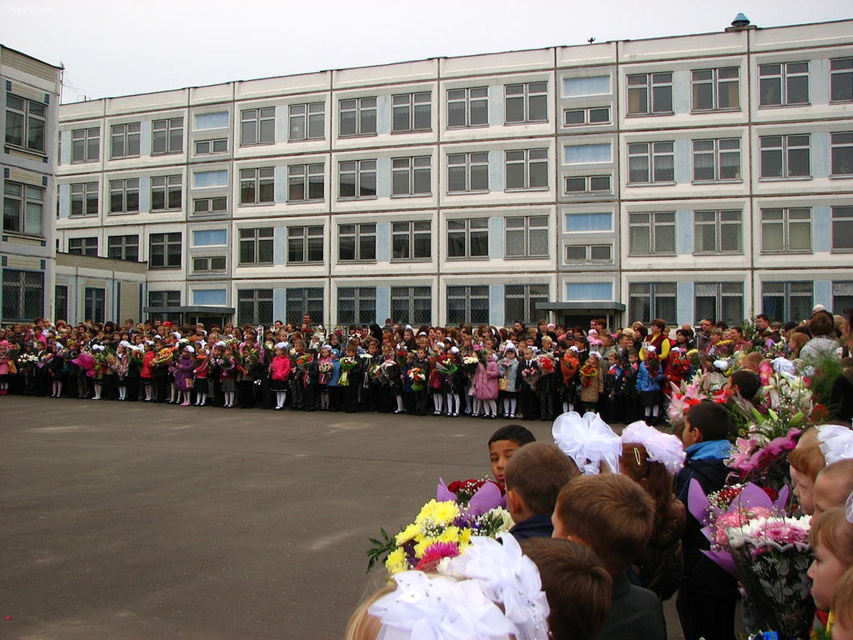 Ngày tri thức diễn ra vào mùng 1 tháng 9 ở Ukraine