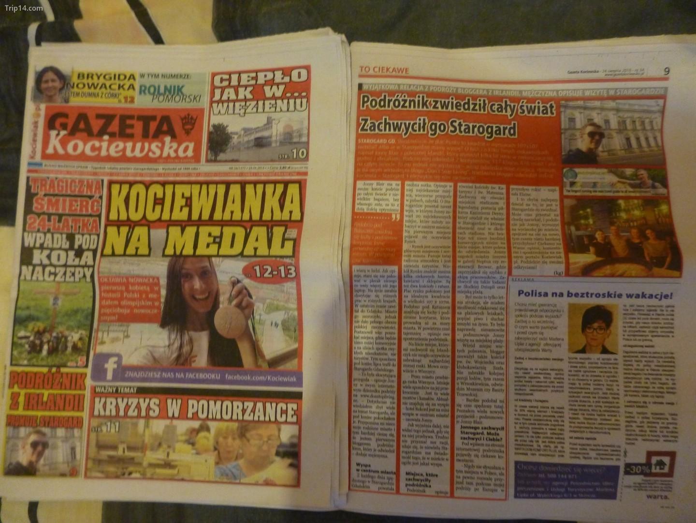Báo địa phương của Ba Lan   |