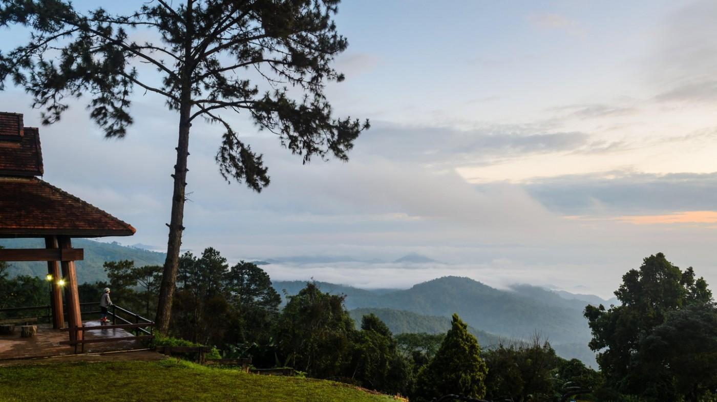 Khách du lịch có thể ngắm nhìn từ Vườn quốc gia Hoài Nam Dang ở Chiang Mai | © Yongkiet Jitwattanatam / Alamy Stock Photo