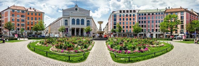 Gärtnerplatz là tâm điểm của khu phố thời thượng của Glockenbachviertel