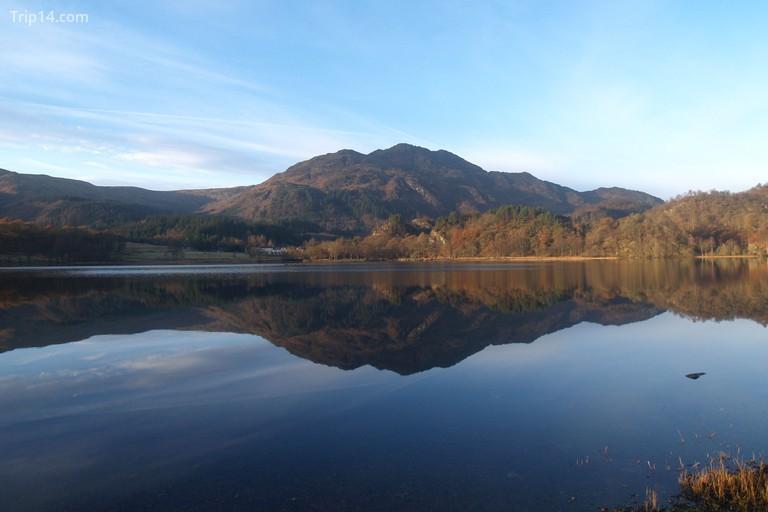 Ben Venue across Loch Achray