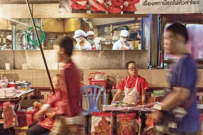 Là nơi giao thoa văn hóa, khu phố Tàu ở Bangkok luôn sôi động