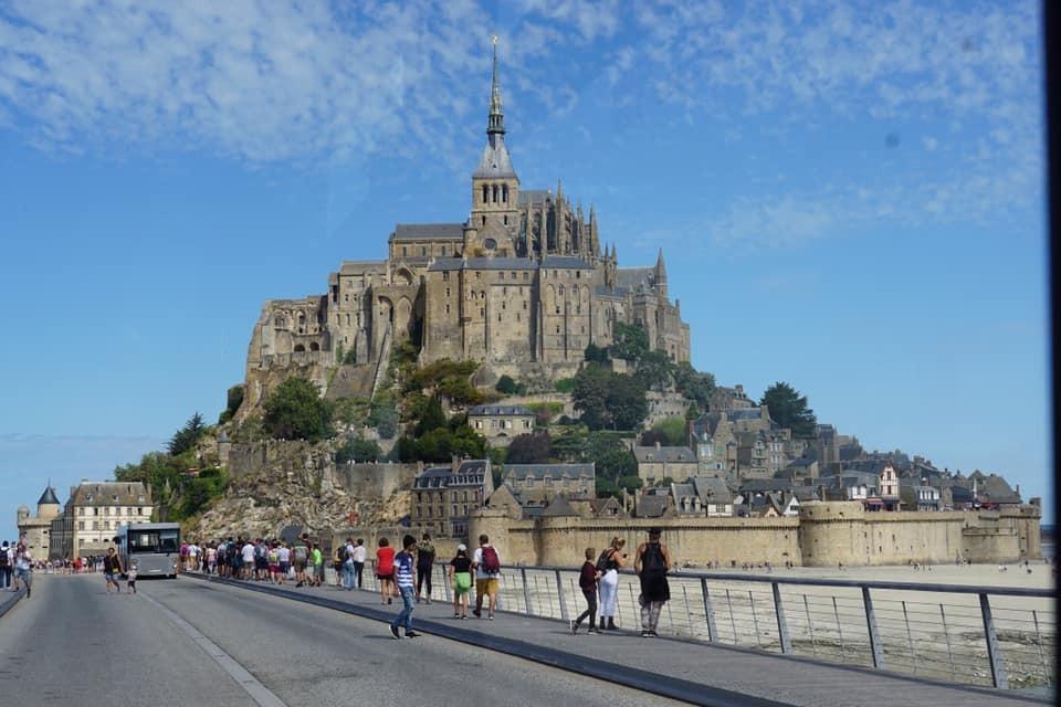 Le Mont Saint Michel. - Khám phá Bretagne, Pháp - Ảnh 1