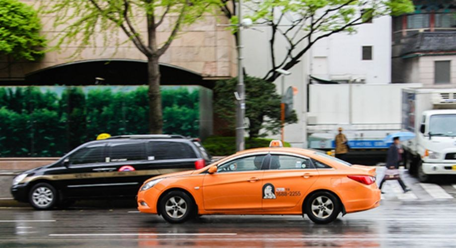 Đi taxi ở Hàn Quốc