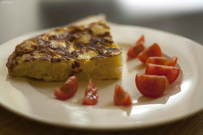 Món trứng tráng nổi tiếng của Tây Ban Nha được phát minh ra ở Extremadura.   |