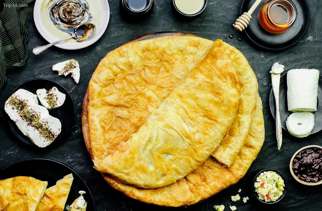 Feteer meshaltet là một món ăn hấp dẫn cho bữa sáng