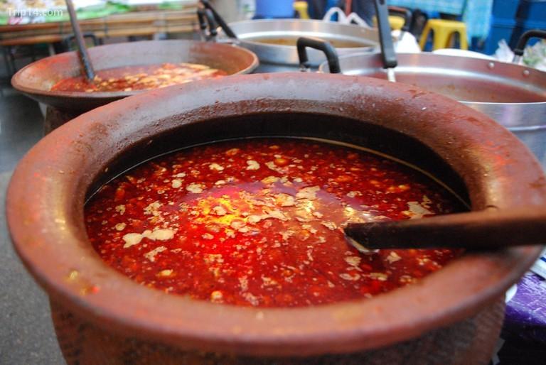 Một nồi súp máu lợn đỏ tươi© Alpha / Flickr - Trip14.com