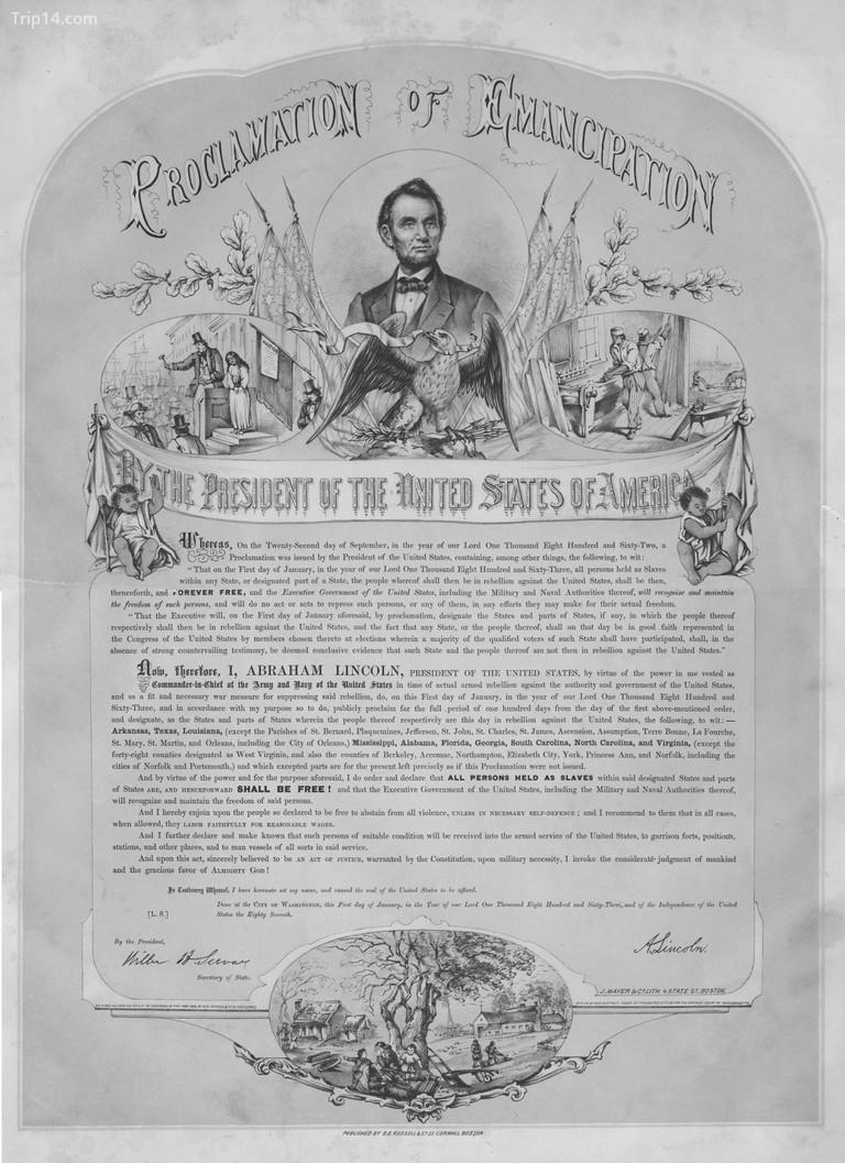 Tuyên ngôn giải phóng của Tổng thống Hoa Kỳ Abraham Lincoln, còn được gọi là Tuyên ngôn giải phóng, là một tài liệu tinh túy từ Nội chiến Hoa Kỳ, được ban hành năm 1863