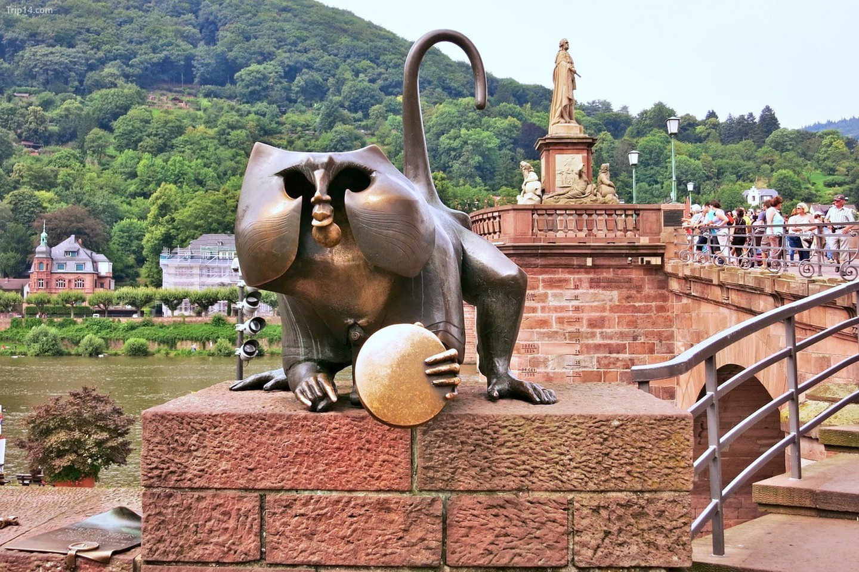 tượng khỉ ở Heidelberg