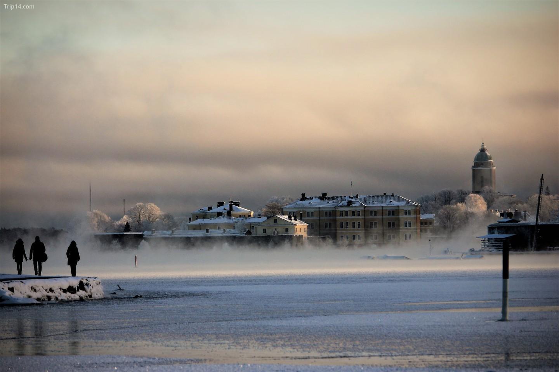 Suomenlinna vào mùa đông   |