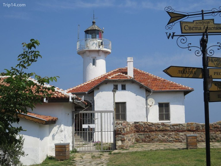 Bảo tàng đảo Saint Anastasia, Burgas