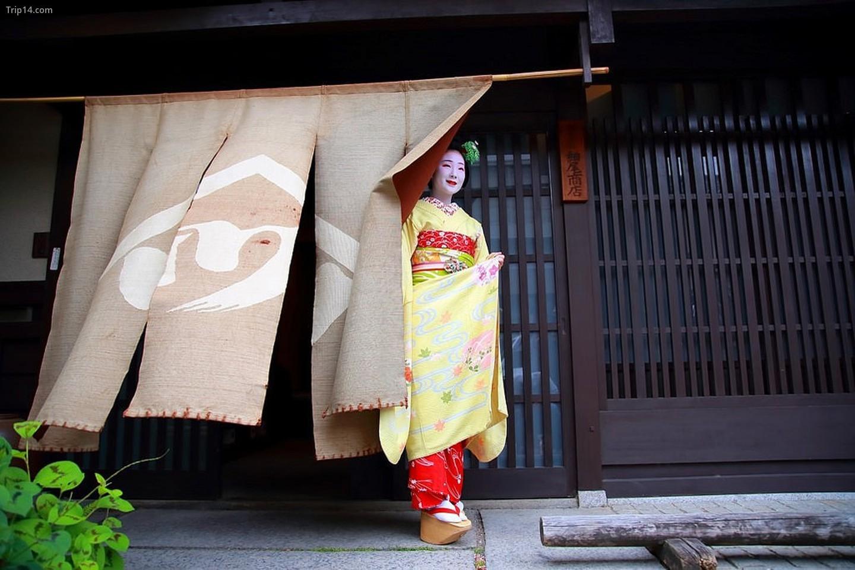 Sự tiến triển trong sự nghiệp của một geisha