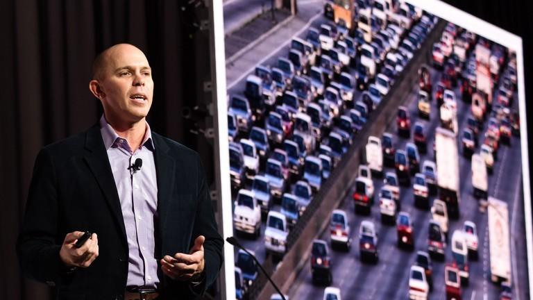 """Waze trình bày trong hội thảo công nghệ """"Power-on"""" cho Tuần lễ Quảng cáo 2017, New York"""