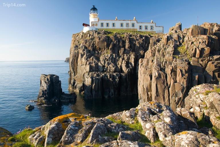 Ngọn hải đăng trên vách đá ở Neist Point