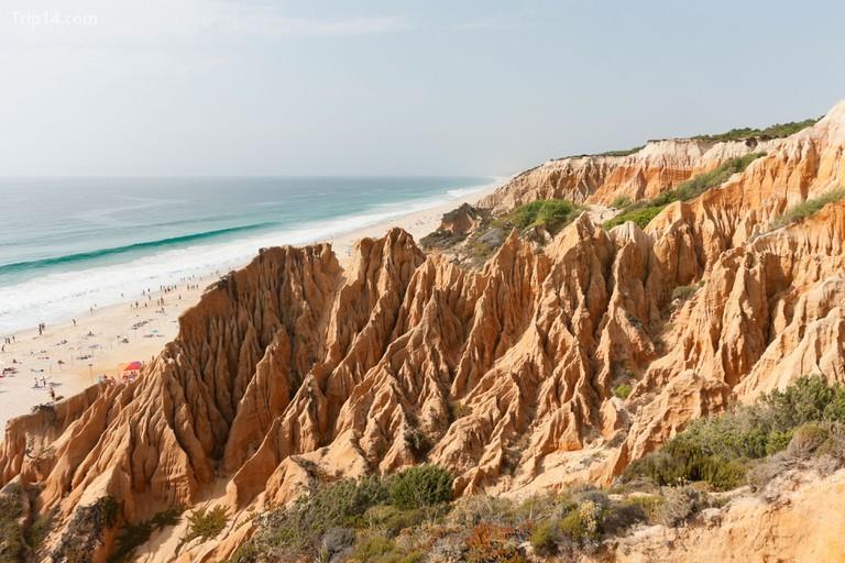 Các vách đá sa thạch ở Comporta, Bồ Đào Nha