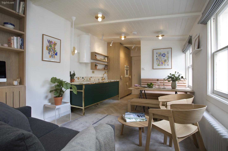 Play Associates đã thiết kế căn hộ nhỏ ở London này   |