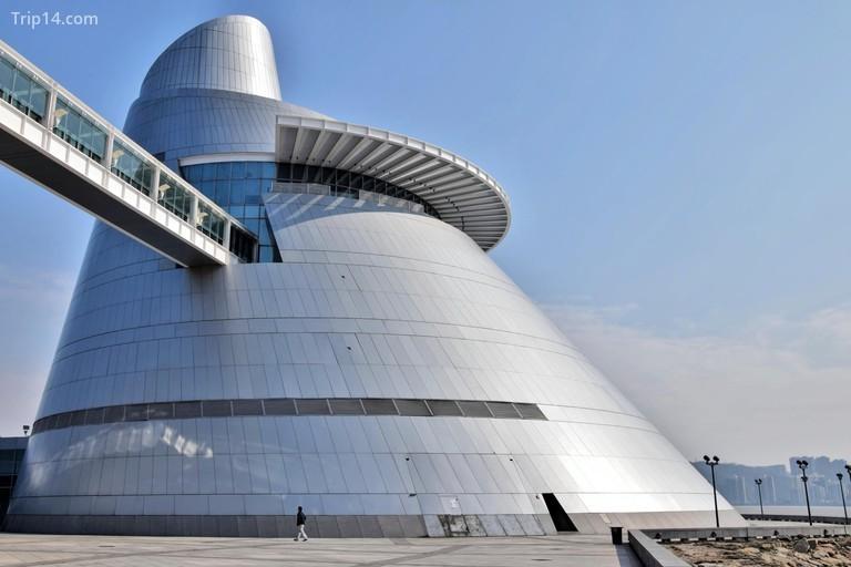 Khai trương vào năm 2009, Trung tâm Khoa học Macao là một tổ chức hiện đại, tiên tiến nhất | © Laoma / Alamy Kho ảnh