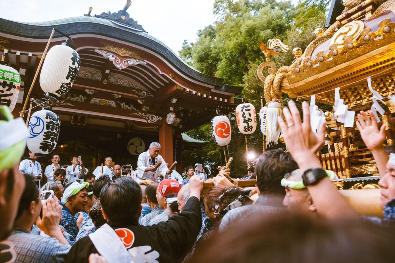 Những người đi lễ hội kỷ niệm Kichijoji Matsuri   |   Mithila Jariwala /