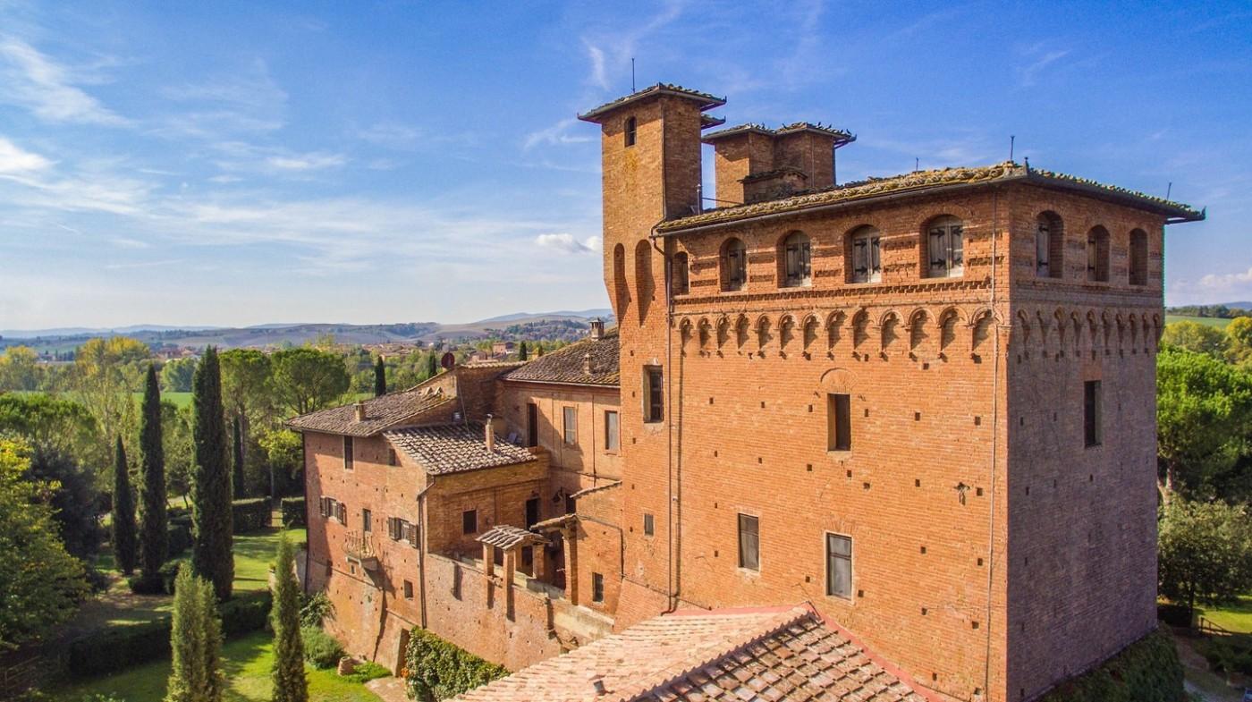 Castell di San Fabiano và phong cảnh Tuscan tuyệt đẹp