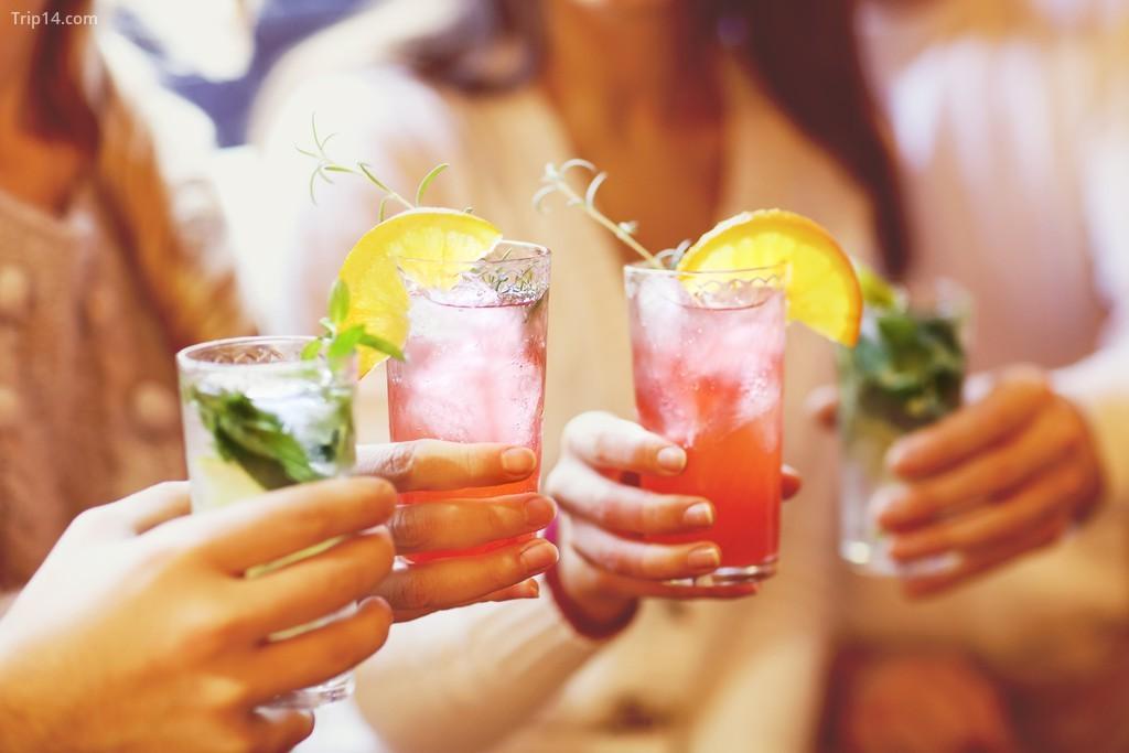 Đồ uống Gin rất phổ biến ở Cape Town