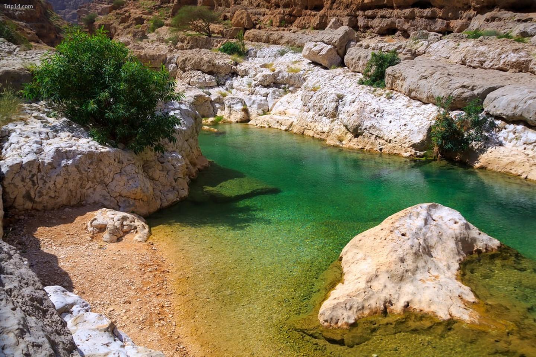 Wadi Shab, Oman   |
