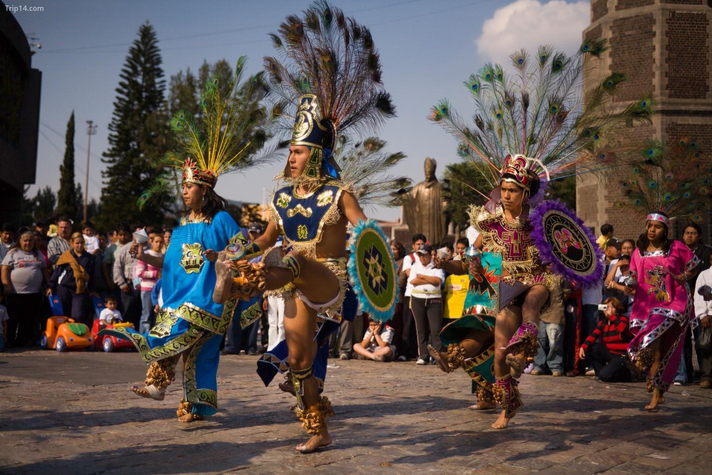 Concheros (Vỏ sò) chủ yếu là một điệu nhảy bản địa