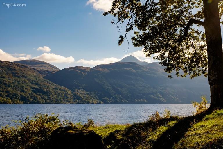 Looking across to Ben Lomond, Scotland