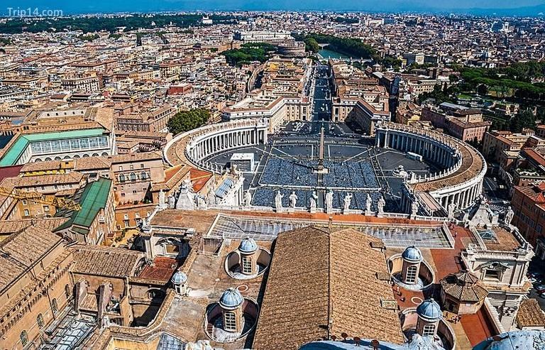 1. Thành phố Vatican - Trip14.com
