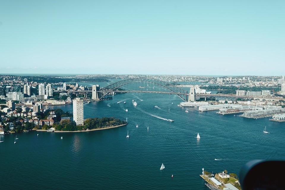 Thuê trực thăng ngắm cảnh thành phố Sydney từ trên cao - Ảnh 8