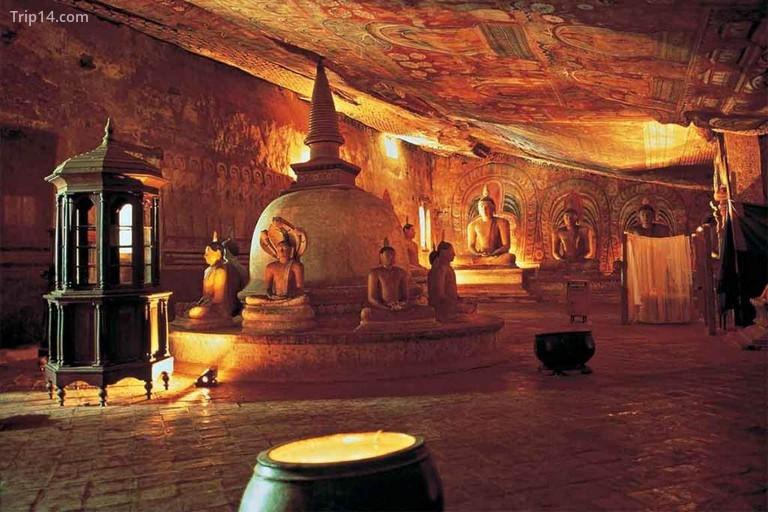 Đền hang Dambulla - Trip14.com