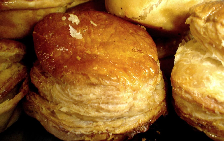 Bánh nướng nhân gà   |