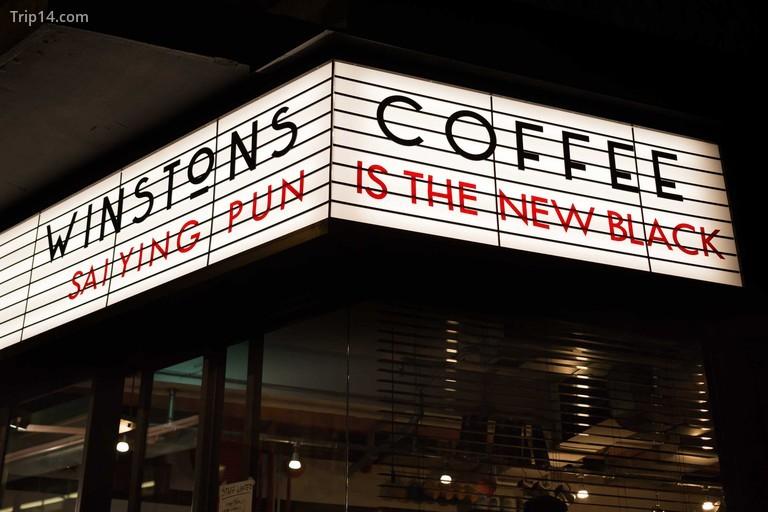 Cà phê Winstons, Sai Yin Pun, Hồng Kông - Trip14.com