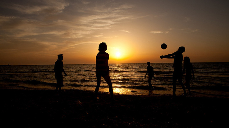 Hoàng hôn trên bãi biển ở Israel |  © israeltourism / Flickr