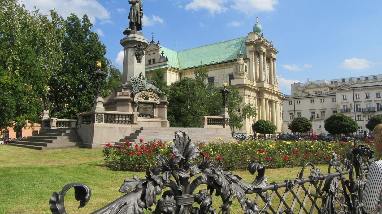 Những bức tượng mang tính biểu tượng nhất ở thành phố Warsaw, Ba Lan
