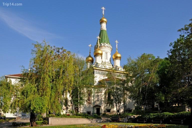Nhà thờ Nga ở Sofia - Trip14.com