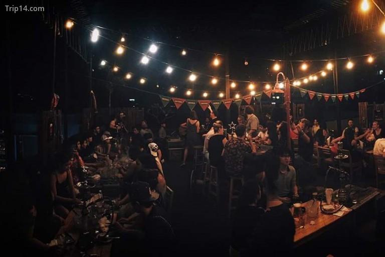 Quán bar trên sân thượng Wanderlust, Krung Thep Maha Nakhon - Trip14.com