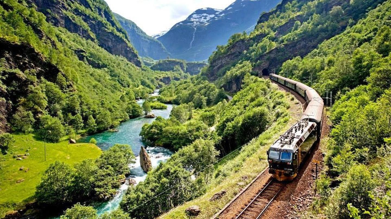 Khám phá tuyến đường sắt Flåmsbana ngoạn mục của Na Uy