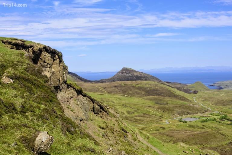 Quiraing ở Isle of Skye, Scotland
