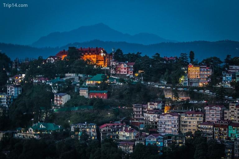 Quang cảnh Shimla vào buổi tối © Masrur Ashraf / Flickr