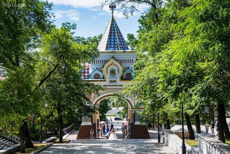 Cổng Khải hoàn môn Nicholas, Vladivostok, Nga